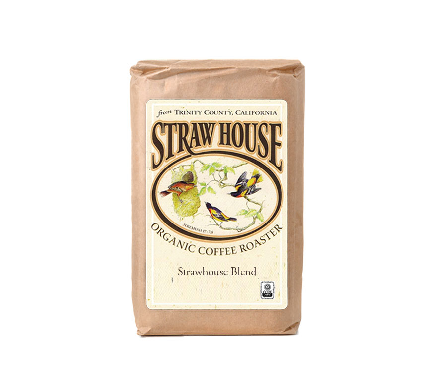strawhouse blend coffee