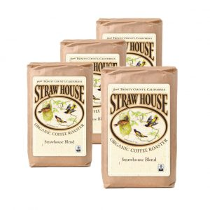4 bags strawhouse blend coffee